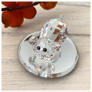 Swarovski Crystal Figurine Piggy Pong